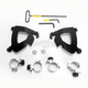 Black No-Tool Trigger-Lock Hardware Kits for Gauntlet Fairing - MEB2006