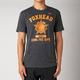 Heather Black Git Physical Tech T-Shirt