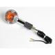 Clear Lens/Amber Bulb Turn Signal Assemblies - 25-3036C