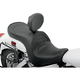 Mild Stitch Low-Profile Double-Bucket Seat with Backrest - 0810-0687