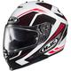 Red/Black/White IS-17 MC-1 Spark Helmet