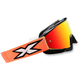 Fluorescent Orange/Black X-Fade Phantom Goggles - 067-10230