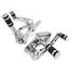 Chrome Billet Forward Control Kit w/Pegs - 22-0760