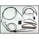 Black Pearl Designer Series Handlebar Installation Kit for Use w/18 in. - 20 in. Ape Hangers - 487283