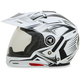 Pearl White Multi FX-55 7-in-1 Helmet