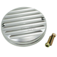 Clear Anodized Silver Finned Billet Points Cover - 16-590S
