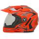 Safety Orange Multi FX-55 7-in-1 Helmet