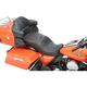 Black Mild Stitch Forward Positioning Large Touring Seat - 0801-0827