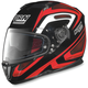 Black/Red/White N86 Overtaking Helmet