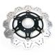 Front Black Vee Brake Rotor - VR679BLK