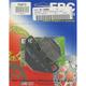 Organic Brake Pads - FA67/3