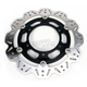Front Black Vee Brake Rotor - VR640BLK