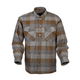 Tan/Brown Covert Flannel Shirt