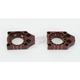 Brown Billet Axle Blocks - KAB03