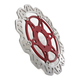 Front Red Vee Brake Rotor - VR2003RED