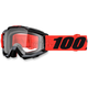 Youth Inferno Red  Accuri Goggle w/Clear Lens - 50300-162-02