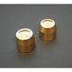 Brass Elite Front Axle Caps - TAC101-E5