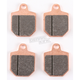 HS Street Sintered Brake Pads - 843HS