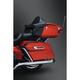 Black Tri-Line Saddlebag Lid Accents - 6973