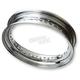 Chrome 16 in. Steel Rim - 0210-0324