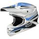 White/Blue/Black VFX-W Sear TC-2 Helmet