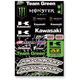 Universal Team Green Sticker Kit - N30-1057