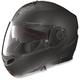 Flat Black N104 Evo Outlaw N-Com Modular Helmet