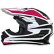 Fuchsia/White FX-21 Alpha Helmet