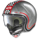 Scratched Chrome N21 Lario Helmet
