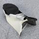 Black Carbon Fiber Weave and Smooth Vinyl Performance Design Seat Kit w/Gel - 0910-H001J