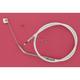 Custom Sterling Chromite II Designer Series Alternative Length Braided Idle Cables for Custom Handlebars - 34364