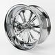 Chrome 18 x 8.5 Czar One-Piece Wheel - 188500920786