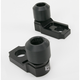 Black Axle Block Sliders - DRAX-107-BK