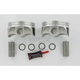 Forged Piston Kit - 3.875 in. Bore - KB904C-STD