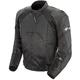 Black Radar Leather Jacket