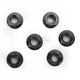 Black Aluminum Sprocket Nut for Ducati 6-Bolt Hubs - DSN6BK