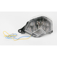 Light Werkes Crystal Clear Integrated Taillight - TLK1001C
