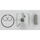 Pro-Lite Piston Assembly - 56mm Bore - 641M05600