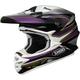 Black/Purple/White VFX-W Sear TC-11 Helmet