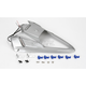 Superbike Rear Silver Undertail Fender Eliminator - 808011103