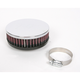 Universal Round/Straight Clamp-On Air Filter - 4 1/2 in. Diameter x 1 1/2 in. Long - RC-0330