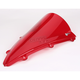 Red Double Bubble Windshield - 16-539-09