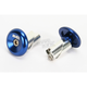 Blue Aluminum End Plugs - L71APU