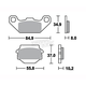 Heavy-Duty Ceramic Brake Pads - TSRP591