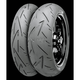 Rear Conti Sport Attack 2 180/55R-17 Blackwall Tire - 02440100000