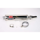 RS-3 Oval Race Slip-On Muffler with Polished Stainless Steel Muffer Sleeve - 1110255