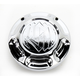 Chrome Vintage Fuel Gauge Cap - 0212-2012-CH