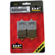 DP Racing/X-Race Titanium Race Sintered Metal Brake Pads - RDP509
