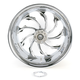 Chrome 18 x 10.5 Custom Torque Wheel for 1 in. Axle - 1274-7834R-TOR1