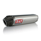 RS-5 Slip-On Muffler with Stainless Steel Muffler Sleeve and Carbon Fiber End Cap - 1200275